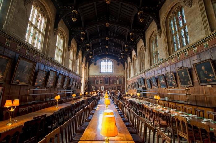 Harry Potter Poudlard hrist church college Oxford