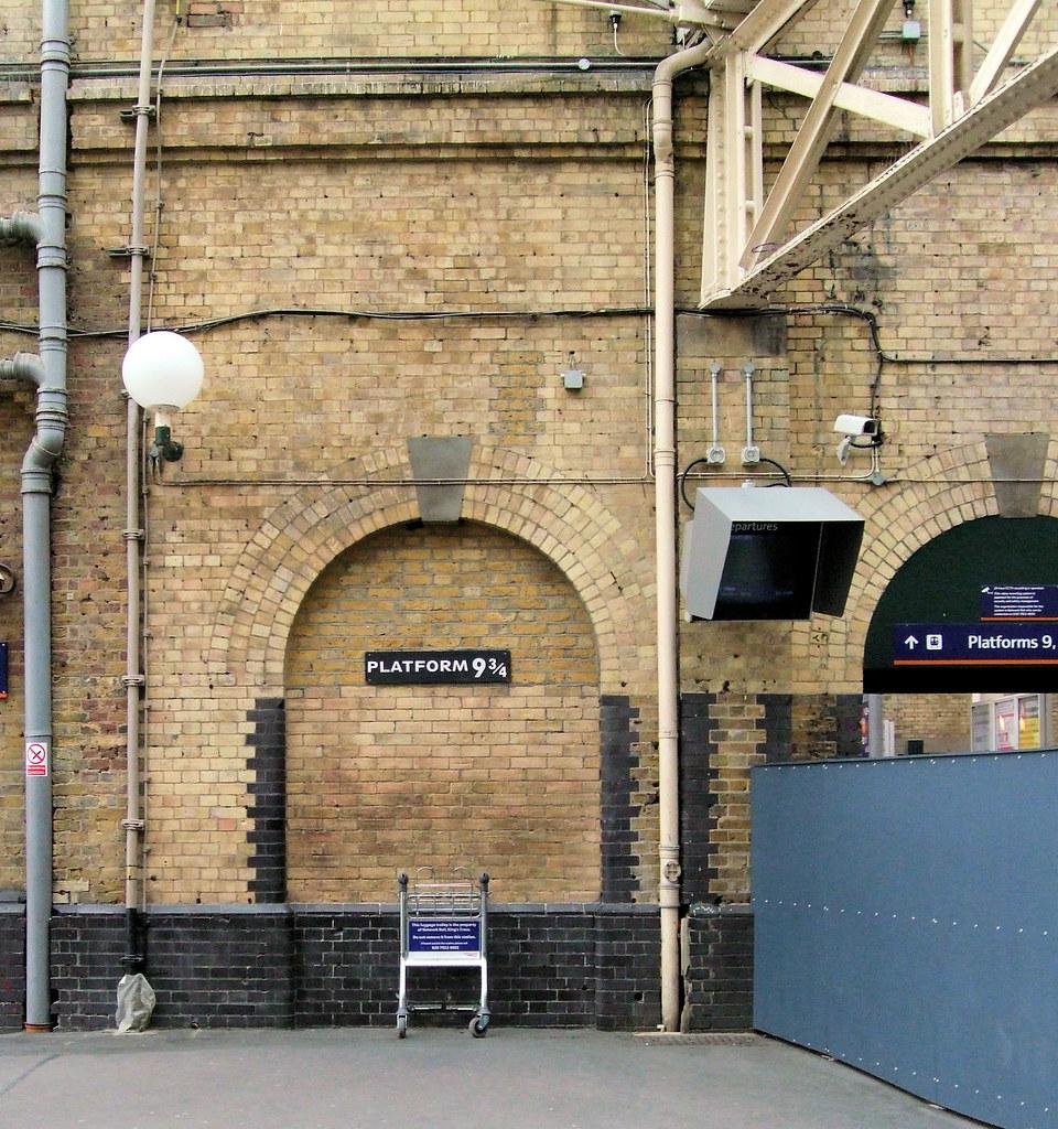 Lieux à visiter Harry Potter Kings Cross Quai 9 3/4