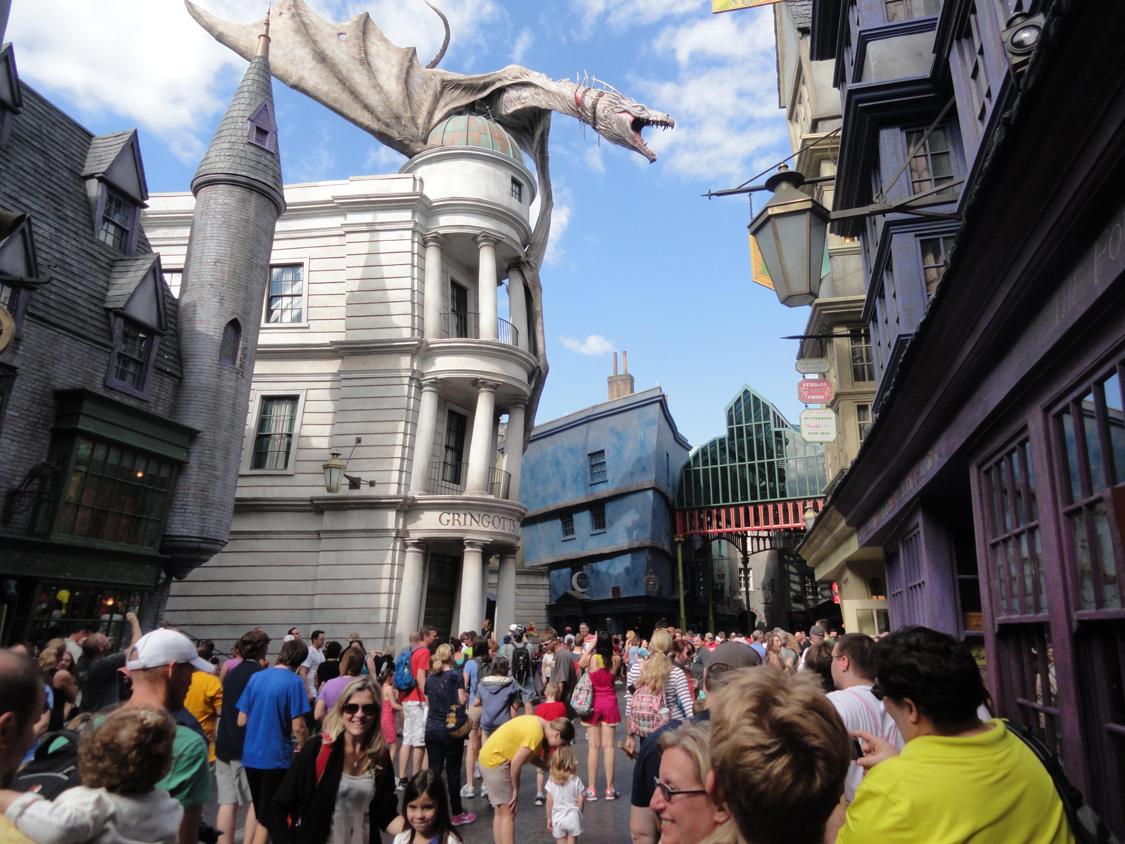 Harry potter parc universal orlando lieux à visiter