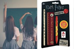 Kit école Passion harry Potter saga produits dérivés