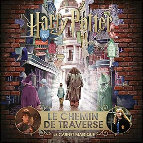 Le chemin de traverse carnet magique Harry Potter