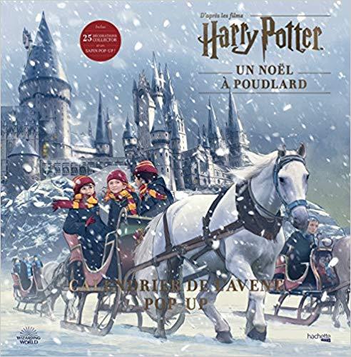Calendrier de l'Avent Pop up Harry Potter