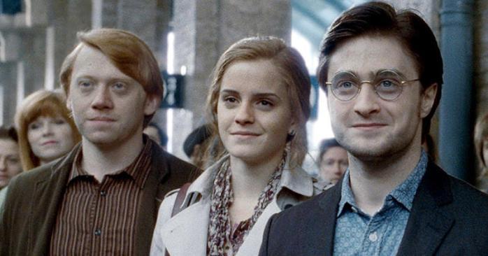 Harry Potter personnages après le film Harry Ron Hermione