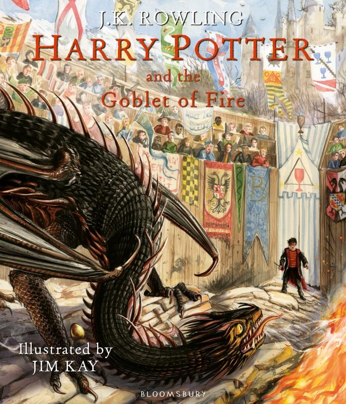 Harry Potter et la coupe de feu version illustrée
