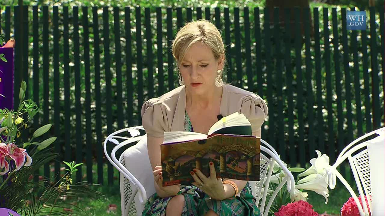 J.K. Rowling écriture Harry Potter