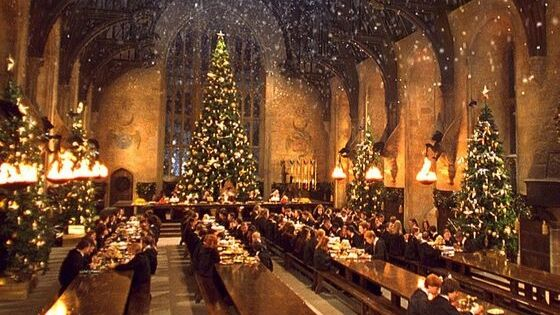 Les décorations de noel Harry Potter