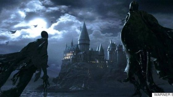 saga Harry Potter dark Jk rowling